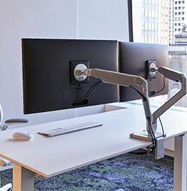 Humanscale multi-screen
