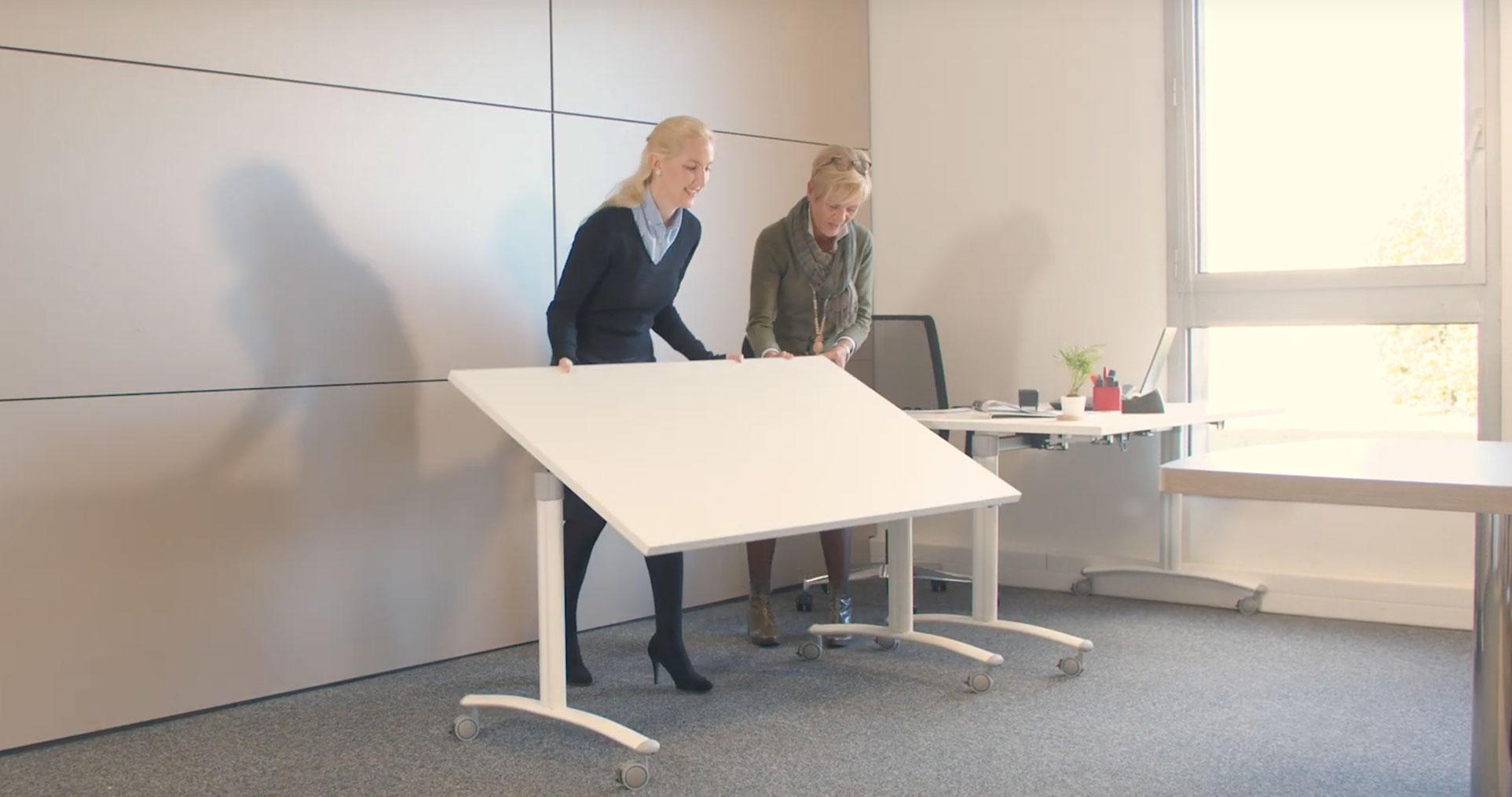 Table Sobo Réunion De Modulable De Table wmN80n